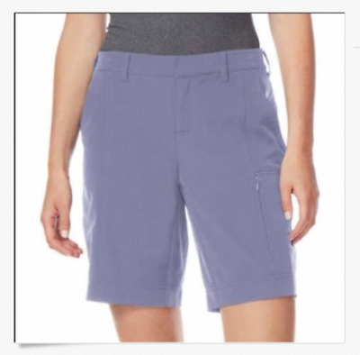 Brand New Women's 32 Degrees Cool Bluestone Grey XS Cargo Shorts