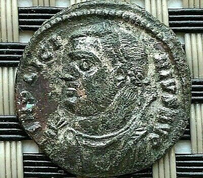 Licinius I 308-324 Ad Ad Ae Follis Silvered Camp Gate Ancient Roman Coin