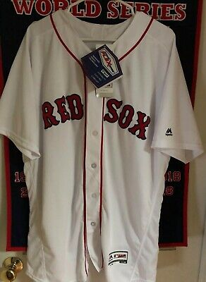 watch b750b 93273 MOOKIE BETTS #50 BOSTON RED SOX AUTHENTIC HOME FLEX BASE ...