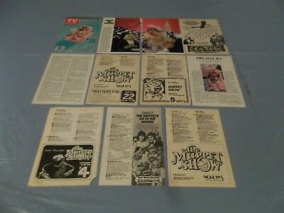 Miss pIggy & the muppets ads  clippings #H20