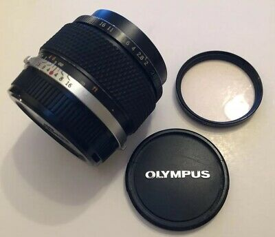 Olympus OM-SYSTEM E.Zuiko MC Auto-W 28mm f2 lens lot of wear good user