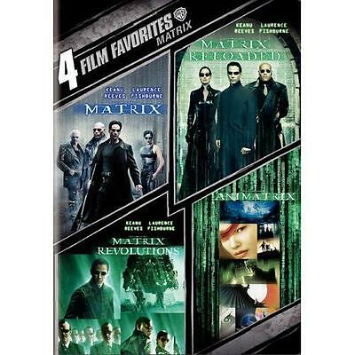 4 Film Favorite - The Matrix Collection (DVD, 2008) Brand New - Factory Sealed