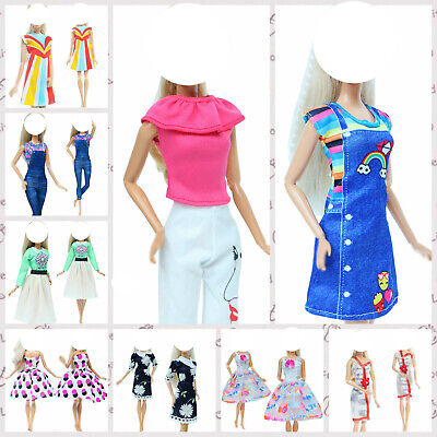 Fashion Handmade Blouses Pants Outfit Accessories Clothes For 12 in. Doll Gift #