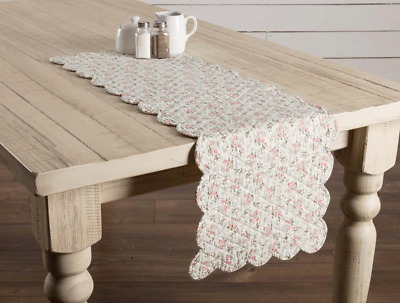 Surprising Madeline Quilted Runner 13X36 Shabby Chic Country Cottage Download Free Architecture Designs Remcamadebymaigaardcom