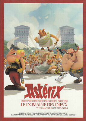 Asterix - The Mansions of the Gods (Bilingual) New DVD