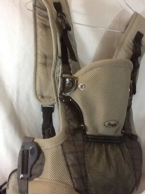 Nice EVENFLO Gray and Black SNUGLI Baby Carrier has Adjustable Straps MUST HAVE