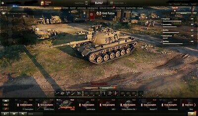 WORLD OF TANKS NA Account, Tier X, 2500 Overall WN8, 60% w/r, plus others