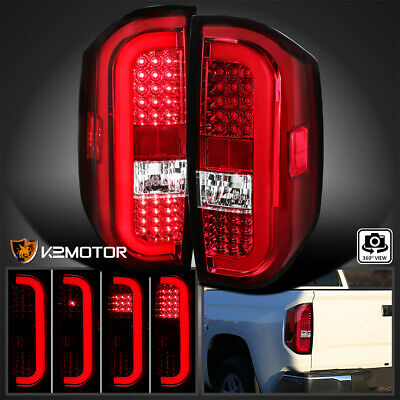 Fits 2014-2020 Toyota Tundra Sequential Signal LED Brake Tail Lights Left+Right
