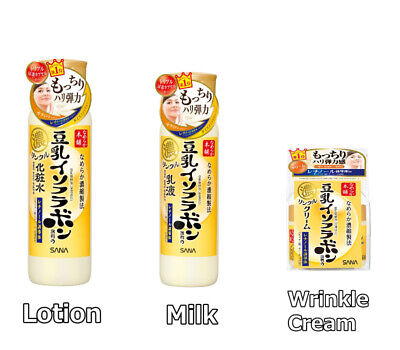 SANA Nameraka Honpo Soymilk Isoflavones Wrinkle Lotion / Milk / Cream Aging care