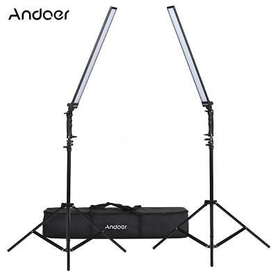 5500K 36W Dimmable Photo Studio Photography LED Lighting Kit for Shooting Video