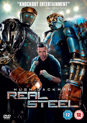 Real Steel DVD (2012) Hugh Jackman, Levy (DIR) cert 12 FREE Shipping, Save £s