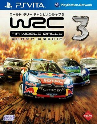 PS VITA WRC 3 FIA World Rally Championship Game REGION FREE Pal