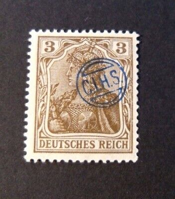 """GERMANIA,GERMANY D.REICH PLEBISCITO 1920 OVP """" C.I.H.S."""" 3p  MH  signed"""