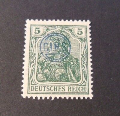 """GERMANIA,GERMANY D.REICH PLEBISCITO 1920 OVP """" C.I.H.S."""" 5p  MH  signed"""