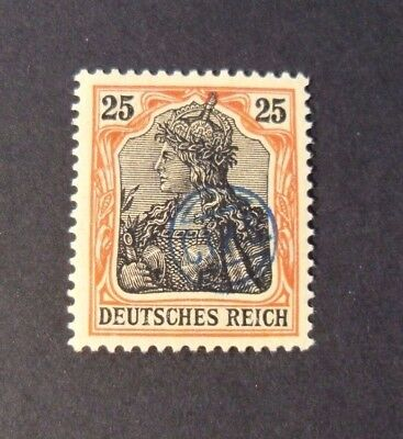 """GERMANIA,GERMANY D.REICH PLEBISCITO 1920 OVP """" C.I.H.S."""" 25p  MH*  signed"""