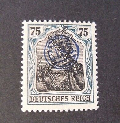 """GERMANIA,GERMANY D.REICH PLEBISCITO 1920 OVP """" C.I.H.S."""" 75p   MH  signed"""
