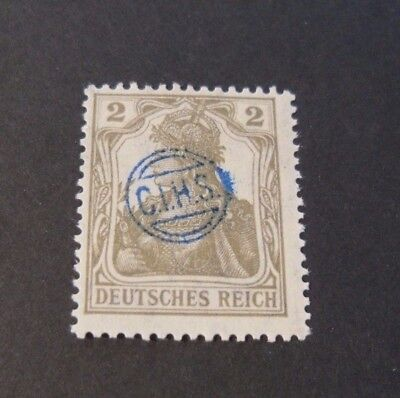 """GERMANIA,GERMANY D.REICH PLEBISCITO 1920 OVP """" C.I.H.S."""" 2  c MH  signed"""