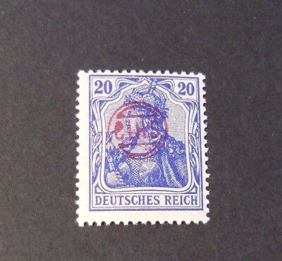 """GERMANIA,GERMANY D.REICH PLEBISCITO 1920 RED OVP """" C.I.H.S."""" 20p  MH  signed"""
