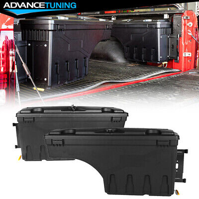 Fits 02-18 Dodge Ram 1500 2500 3500 ABS Truck Bed Storage Box Toolbox