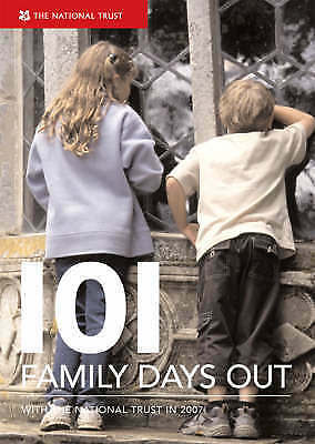 101 Family Days Out, National Trust, Very Good Book