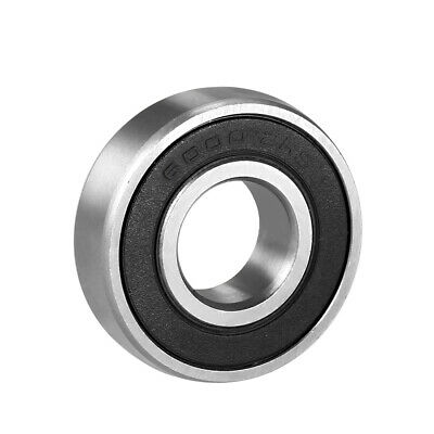 Deep Groove Ball Bearing 6000-2RS Double Sealed 10mmx26mmx8mm Chrome Steel