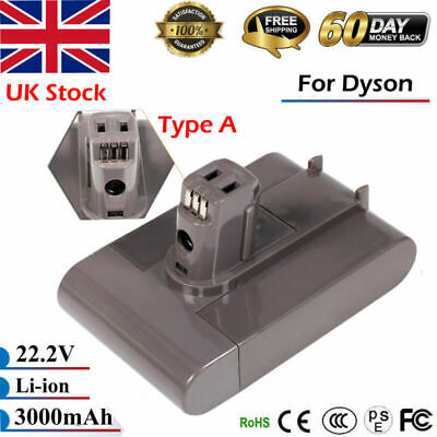 22.2V 3000mAh Type A Vacuum Cleaner Battery For Dyson Animal DC31 DC34 DC35 DC44
