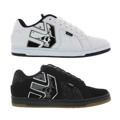 2917a0120a4f5 ETNIES METAL MULISHA Fader 2 Mens White Skate Trainers Shoes Size UK 7-10