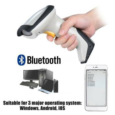 Bluetooth USB Wireless Barcode Scanner Reader POS For Android IOS Windows iPhone