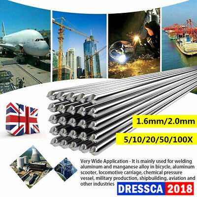 1.6/2mm 5/10/20/50/100X Easy Aluminum Welding Rods Low Temperature FREE SHIPPING