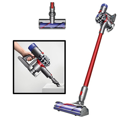 Dyson v6 Slim Vacuum Cleaner Powerful Stick Cordless Handheld Handstick Bagless