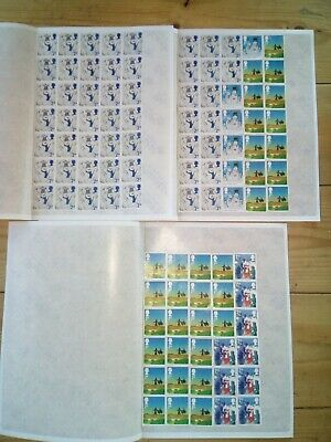 100 x 2nd CLASS POST 2012 STAMPS £65 FV UNFRANKED OFF PAPER WITH GUM (2NDP)