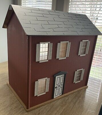 Large Vintage Wood Doll House