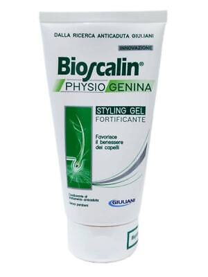 2 x BIOSCALIN PHYSIOGENINA STYLING GEL FORTIFICANTE 150+150ml >SCONTATISSIMO<
