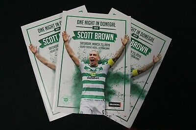 Celtic FC Foundation - One Night in Donegal with Scott Brown - programme
