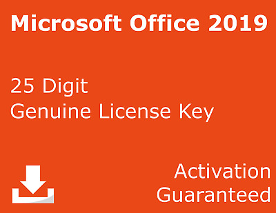 Office Pro Plus 2019 - Genuine Key for PC