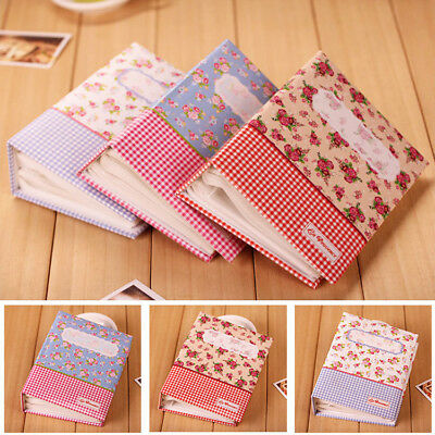 80 Pockets Useful  Floral Photo Album Scrapbook Memory Storage Hold Case Gifts
