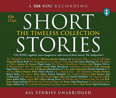 Short Stories: The Timeless Collection, Jerome, Jerome, Fitzgerald, Scott, New,