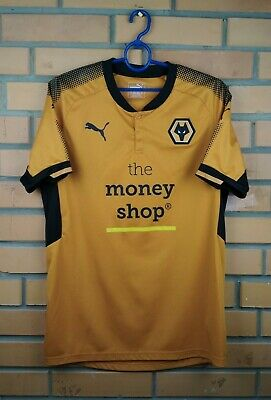 Wolverhampton Wanderers jersey medium 2017 2018 home shirt soccer football Puma