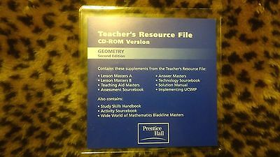 UCSMP GEOMETRY TEACHERS RESOURCE CD-ROM 2ND EDITION by Addison Wesley