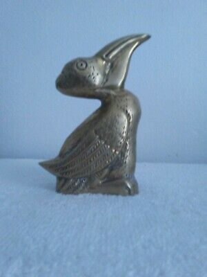 Vintage Brass Pelican Door Knocker Penco 1973