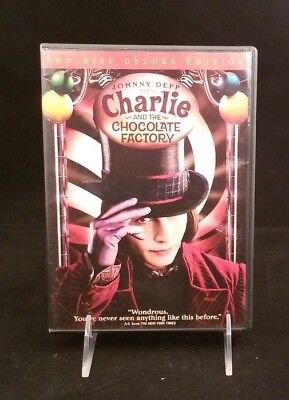 Charlie and the Chocolate Factory (DVD 2005, 2-Disc Set, Widescreen Deluxe Edit