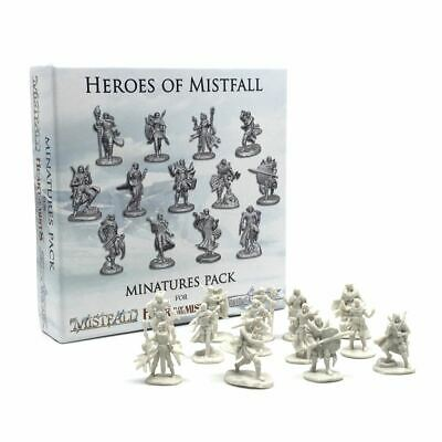 New Heroes Of Mistfall Miniatures Pack Minatures Figurines Board Game Official