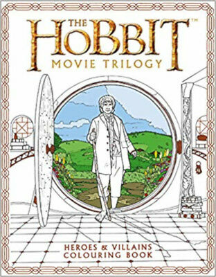 The Hobbit Movie Trilogy Colouring Book (Colouring Books), New, Tolkien, J. R. R