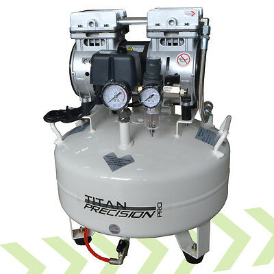 Titan 22L Bar / Drinks Beverage Oil Free Air Compressor 240v