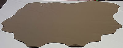 Leather Cowhide Beige Craft Tan Upholstery Cowhides Excellent Quality TS-1373