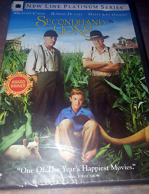 Secondhand Lions (DVD, 2004, Platinum Series)