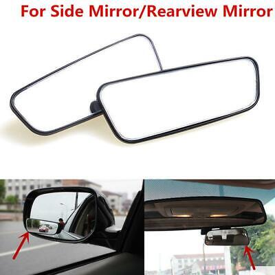 2X Universal Car Auto Wide Angle Rear View Side Parking Blind Spot Convex Mirror