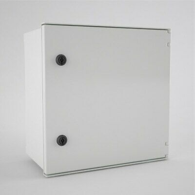 Electrical GRP Polycarbonate Industrial Enclosure IP66 IK10 400 x 400 x 200mm