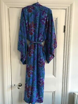 Stunning kimono, 100% silk, from China, 150 cm long, 66 cm from pit to pit
