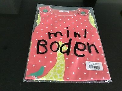 Mini Boden Dotty Lined Girls Dress Brand New 2-3 years